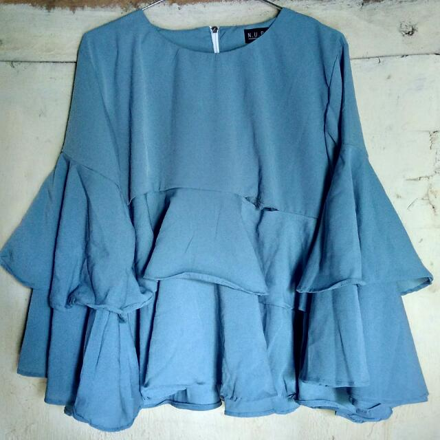 Ruffela Top mint