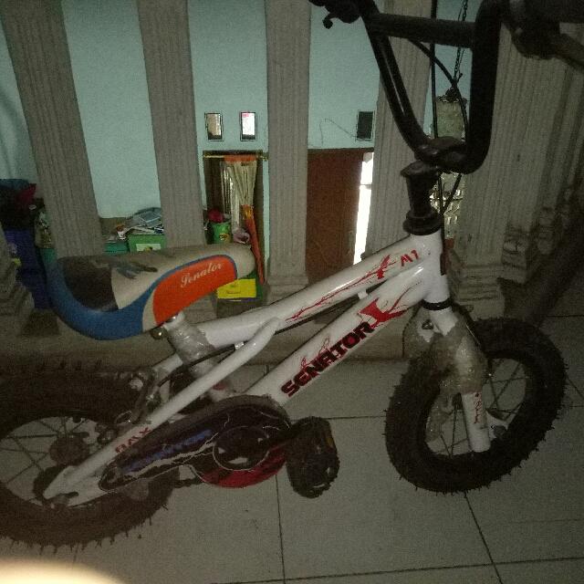 Sepeda Anak Ukuran Tanggung