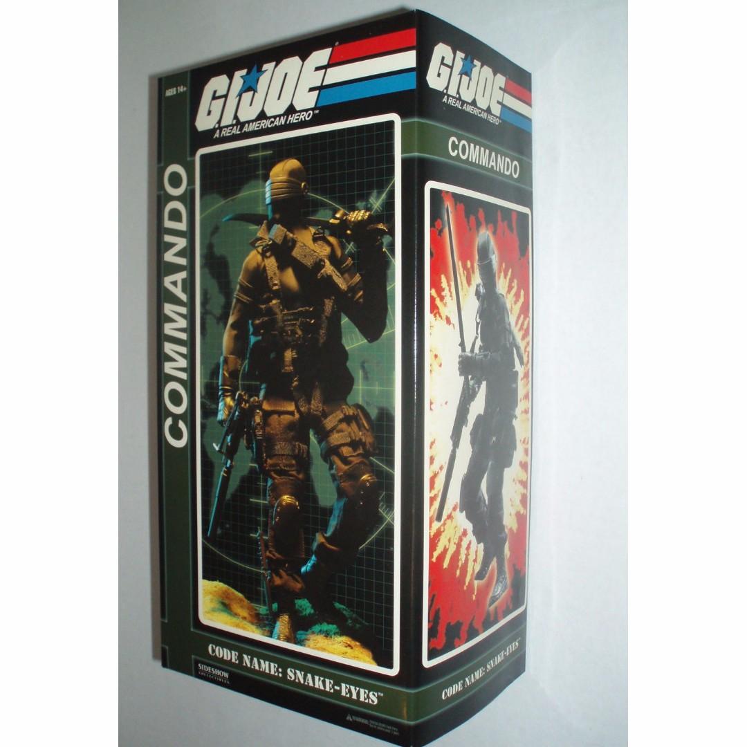 Sideshow G.I. Joe code name Snake Eyes 1/6 scale GIJoe