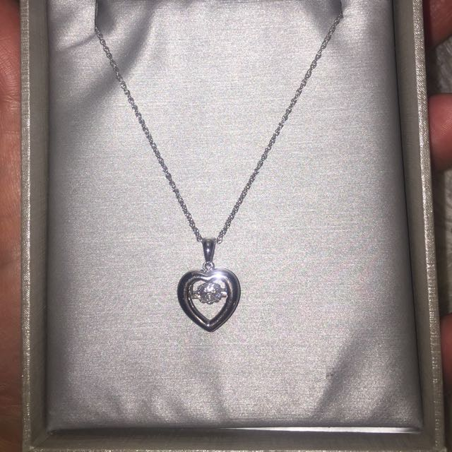 Silver People's Necklace! Brand New!