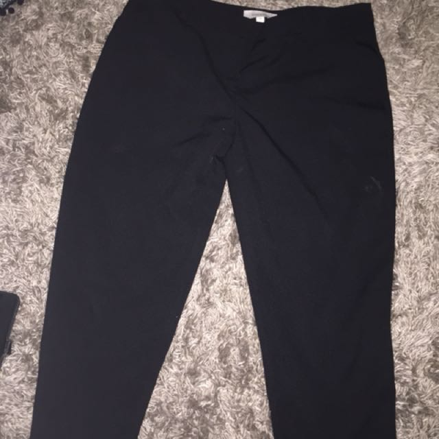 Size 12 work pants