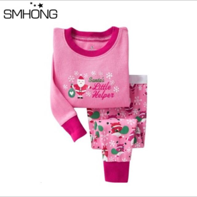 b5f358f5ecca SMHONG Baby Boys Girls Christmas Pajamas Kids Long Sleeve Xmas PJS ...