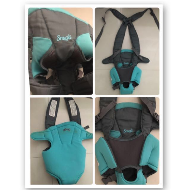 Snugli Baby carrier(strap)for weight(3.2kg-11.8kg) on Carousell