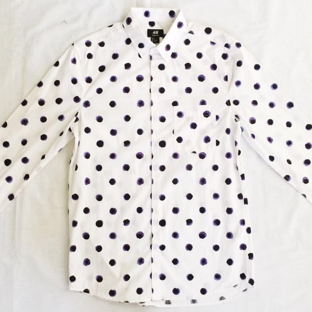 ⭐️SPECIAL OFFER⭐️H&M Polka Dot Shirt