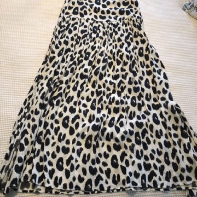 8c42e0b7c1d1 Spell and the gypsy leopard print wild split skirt size 6, Women's Fashion,  Clothes on Carousell