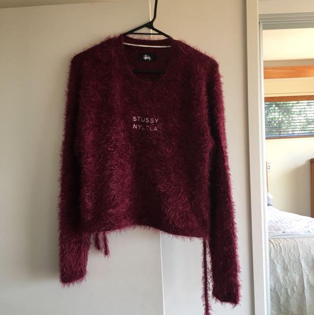 Stussy fluffy pullover