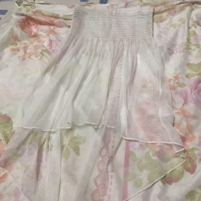 Summer net dress