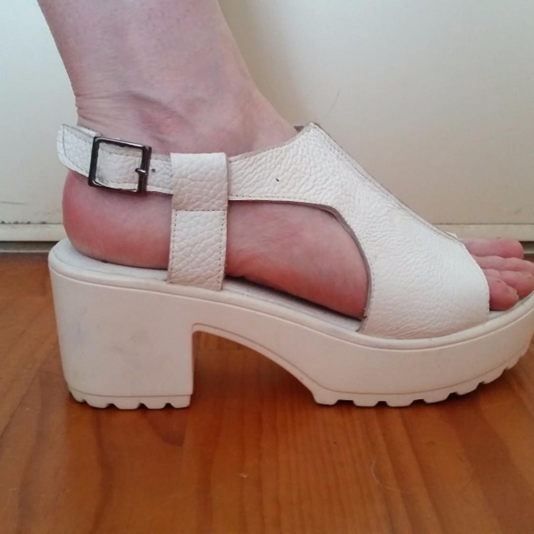 Summer Platform shoes sz.8