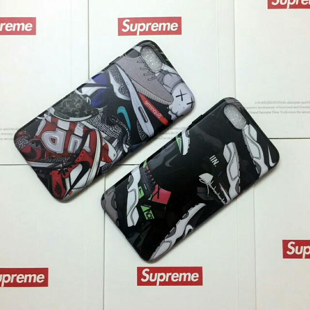 Supreme X Nike Jordan High Quality Soft Shell Case For iPhone 6/7/7plus/8/8plus/X