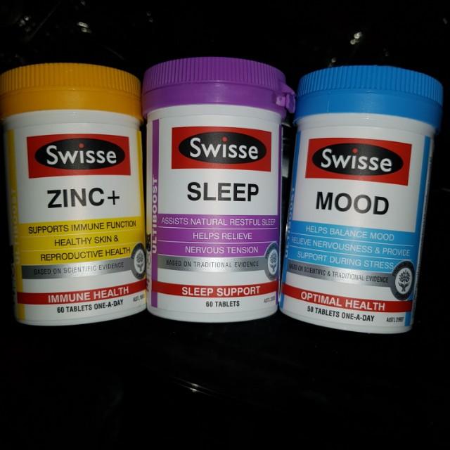 Swisse Vitamins...Sleep.Mood.Zinc...