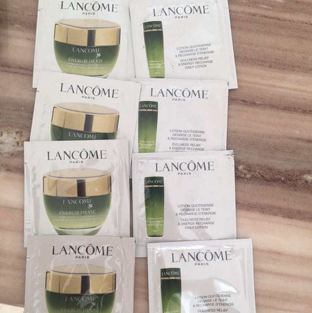 TAKE ALL 8 LANCOME SKINCARE