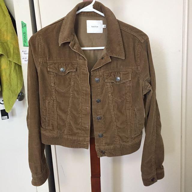 Talula Curdoroy Jacket