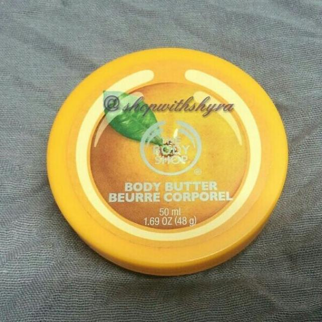 The Body Shop Satsuma Body Butter. 50ml (travel size).