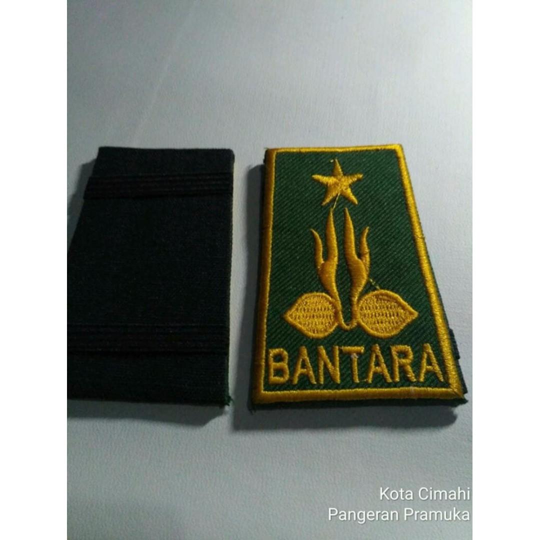 Tku Bantara Bordir List Pramuka