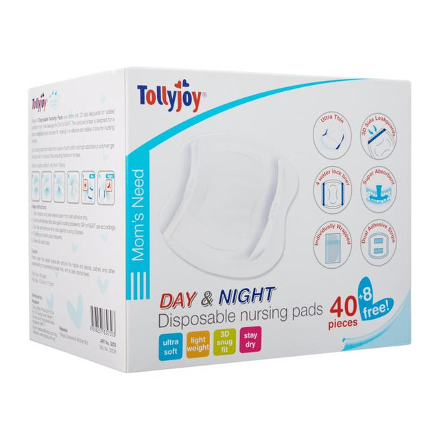 US Baby Breastpad 3D With Wing New Design - Putih. Source ·