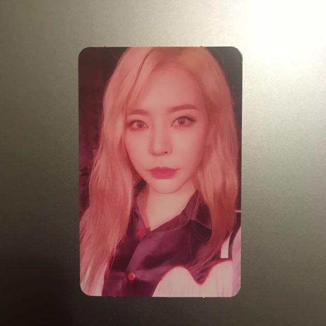[TRADE] SNSD Sunny Holiday Night photocard