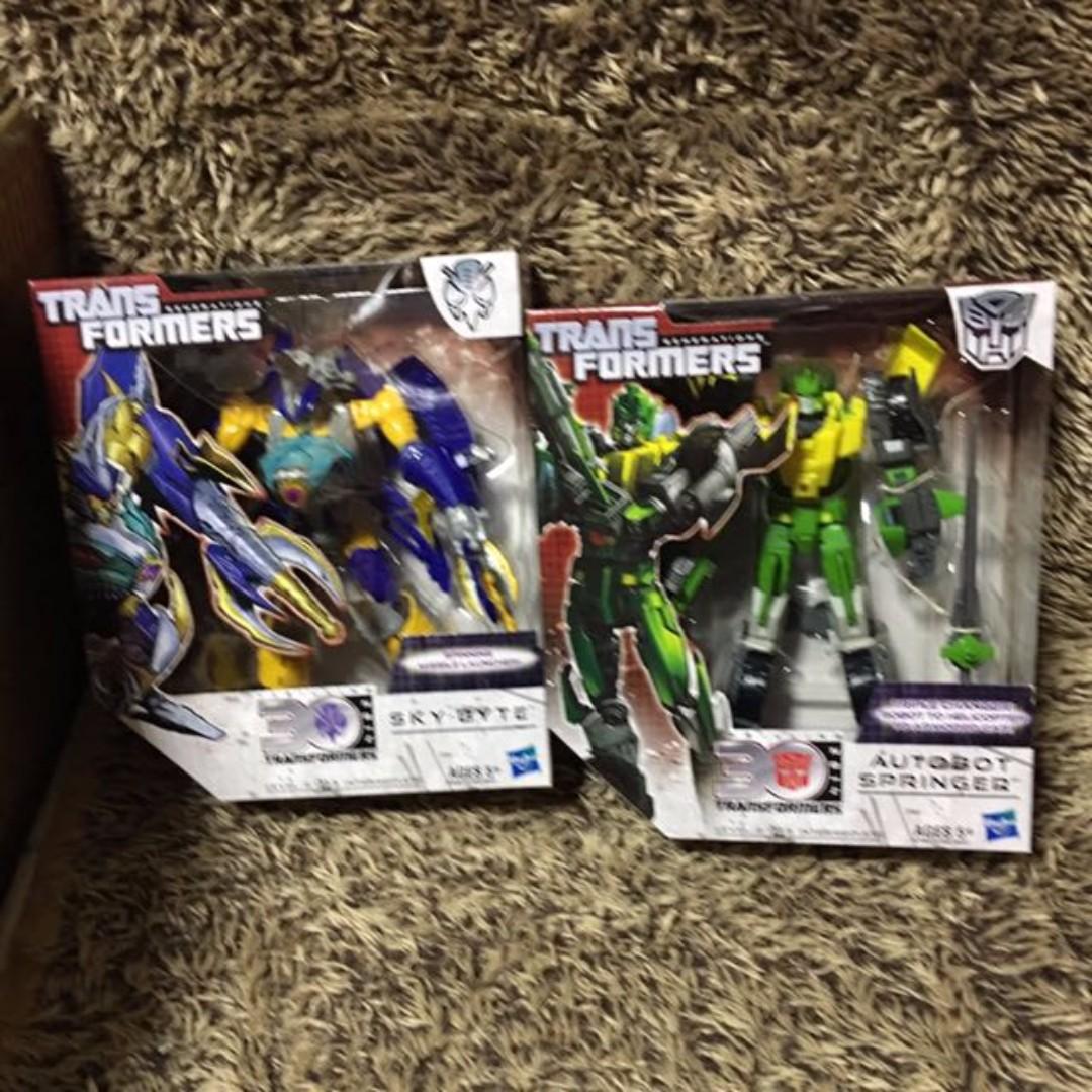 Transformers Autobot Springer Skybite Voyager NEW