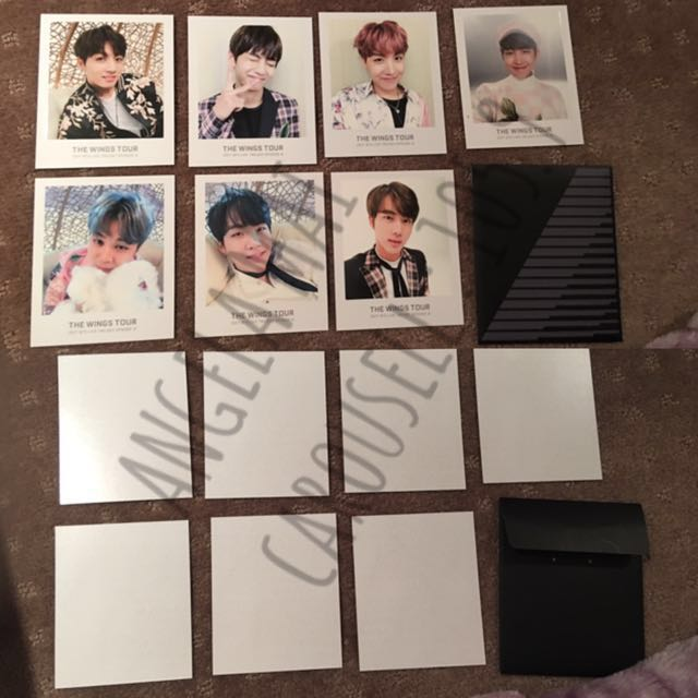Wings Tour Ticket Album Photo