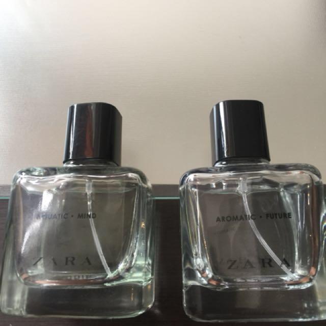 Zara Eau de Toilette 2 bottles  for 199.00 only