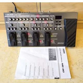 Boss ME-80 Multi-Effects Unit