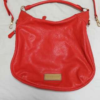 Authentic Marc jacobs full leather hobo sling bag