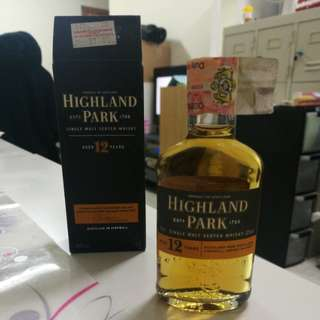 Scotch Whisky (Tiny bottle)