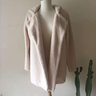Brandy Melville Fuzzy Coat