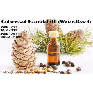 Cedarwood Essential Oil (Water-based) for Air Humidifier / Diffuser & Others