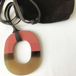 Authentic HERMES Isthme Pendant