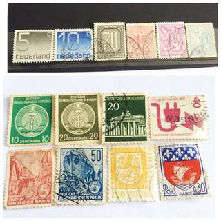 World Old Stamps