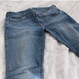 7 for Mankind Skinny Jeans (Size 2)