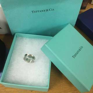 Authentic Tiffany And Co 1837 Ring