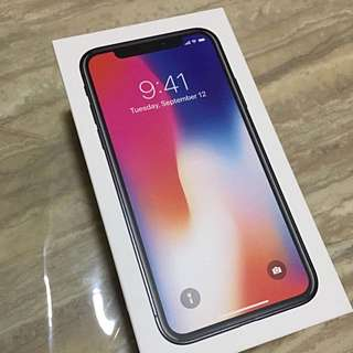 iPhone X Space Grey 256GB • Brand New In Box