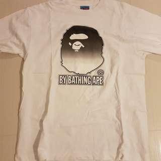 A Bathing Ape Head T-Shirt Tee Bape