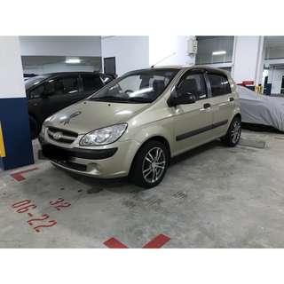 Hyundai Getz 1.1 Manual GL 5dr
