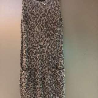 🚚 全新日本Untitled豹紋洋裝