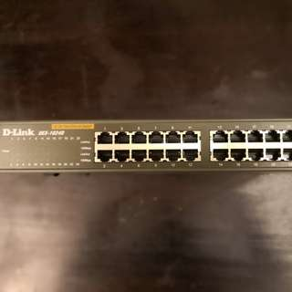 D-Link Des 1024D 24-Port Fast Ethernet (10/100) Unmanaged Desktop Switch