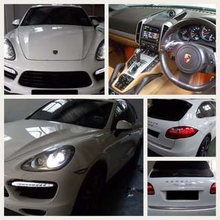Porsche Cayenne Turbo for Lease
