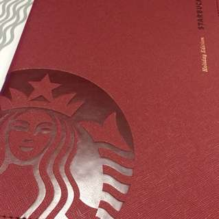 Starbucks 2018 Limited Edition Planner (RED)