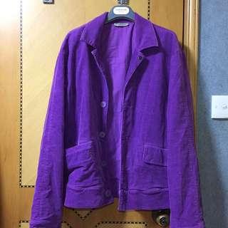 Bottega Venata (BV) Purple Corduroy Jacket