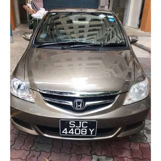 HONDA CITY MT