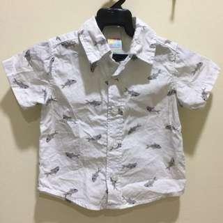 1Y Healthtex Baby Shark Shirt #midnovember50