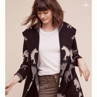 Anthropologie Dressage Sweater jacket XS