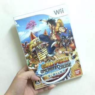 Wii遊戲片航海王