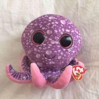 BNWT TY octopus plush
