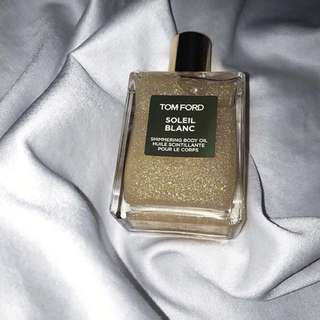 Scented Tom Ford Glitter oil spray