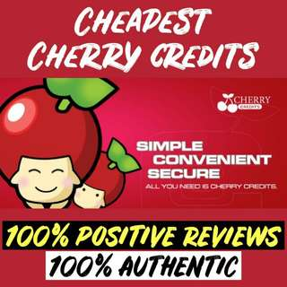 Cheapest Cherry Credits CC
