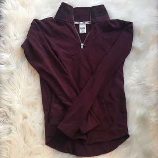 Burgundy Pink Sweater