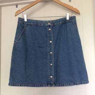 Waredenim Denim Skirt