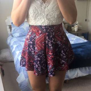 Cute festival playsuit